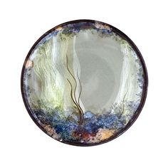 Highland Stoneware - Small Round Stand (D 15cm), Celadon Rockpool