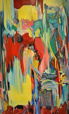 "Saatchi Art Artist DIANA ROIG; Painting, ""Caution! Wild Strawberries."" #art"