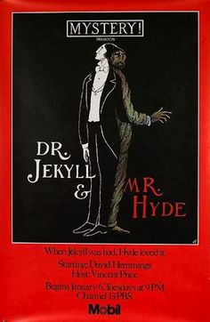 PBS Mystery! poster by Edward Gorey