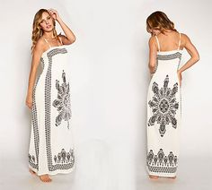 Win Today's Giveaway of the Day - Stylish Tribal-Inspired Maxi Dress - Assorted Colors/Sizes - Drawing 4/22/15 @ 3PM EST