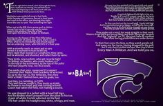 The night before Football Kansas State University, Kansas State Wildcats, All Colleges, Plexus Slim, Alma Mater, All Things Purple, I School, His Eyes, Plexus Products