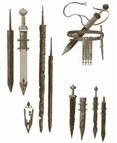 Roman Weapons | THE LEGIONARY 'S WEAPONS