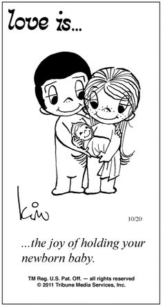 Love is. Number one website for Love Is. Funny Love is. pictures and love quotes. Love is. comic strips created by Kim Casali, conceived by and drawn by Bill Asprey. Everyday with a new Love Is. Love Is Comic, Love Is Cartoon, What Is Love, Love You, My Love, One Photo, Calvin And Hobbes, Love Notes, Political Cartoons