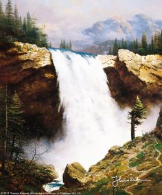 """The Power and The Majesty"" by Thomas Kinkade 5/18/15"