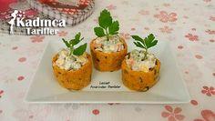 Patates Çanağında Rus Salatası Tarifi nasıl yapılır? Patates Çanağında Rus Salatası Tarifi'nin malzemeleri, resimli anlatımı ve yapılışı için tıklayın. Yazar: Lezzet Pınarından Damlalar