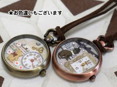Sickeningly cute watches.