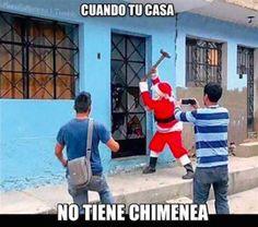 Y a los residentes de aquel hogar, que hasta Santa Claus se las quiere hacer. | 20 Seres que tuvieron un 2015 más mierda que el tuyo