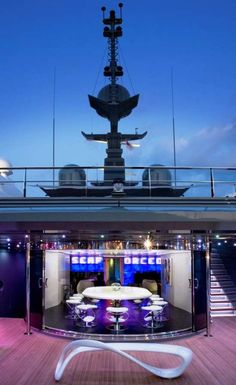 Luxe Nightclub Boats - The Sea Force One Yacht Brings the Party to the Sea (GALLERY)
