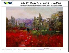 UZAP Photo Tour EBook of the Maison de l'Art Gallery Cover Photo