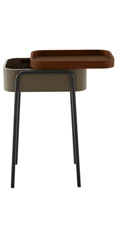 Couliss side table designed by Philippine Lemaire for Ligne Roset | Available at LINEA Inc. Modern Furniture Los Angeles. (info@linea-inc.com) #modernfurniture #interiordesign