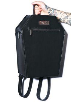 Kill Star Coffin Backpack | Dolls Kill