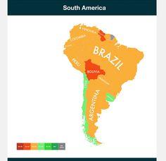 Países responsáveis pelo aquecimento global devem escapar 'ilesos' dele, mostra mapa