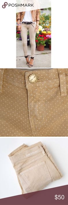 Current Elliott Polka Dot Stiletto Jeans Polka Dot Stiletto Jeans by Current Elliot. Size 28. These are the small polka dots not the big ones in the first picture. I bought but ended up being too big for me :( just trying to make my money back. Current/Elliott Jeans Skinny