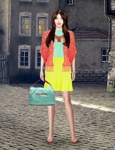 Look from latest collection of: Bensimon, Dorothy Perkins, Georgia Rose, Mango, River Island, Stefanel. GLAMSTORM.COM - virtual stylist.