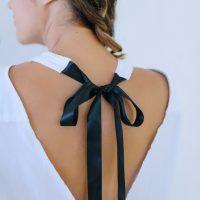 DIY Tie Neck Top