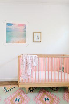 """The """"Elodie"""" Rug In A Nursery"""