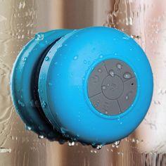 Tonor TM Portable Mini Wireless Bluetooth Speaker HI-FI Water Resistant Showe. Stereo Speakers, Bluetooth Speakers, Speaker Price, Shower Speaker, Waterproof Bluetooth Speaker, Shower Accessories, Free Cars, Boombox, Mini