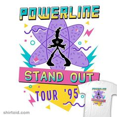 95 World Tour from Once Upon a Tee Goofy Disney, Disney Love, Day Of The Shirt, Childhood Tv Shows, Geek Shirts, Tour Posters, Movie Wallpapers, Tour T Shirts, New Hobbies