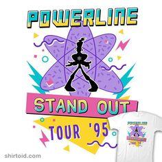 '95 World Tour | Shirtoid #agoofymovie #disney #film #goofy #movies #vincenttrinidad