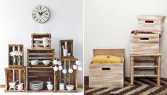 muy mucho cajas Ladder Decor, Shelving, Entryway, Santa Maria, Furniture, Home Decor, Google, Ideas, Wooden Shelves