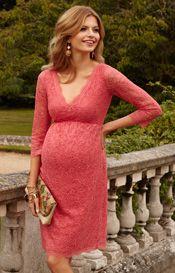 Chloe Lace Maternity Dress Coralista