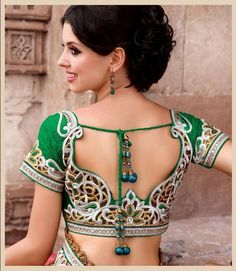 Saree Blouse Back Design