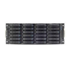 "AIC RSC-4BT0-C0PG-SA3E-0CL-A 1200W 4U Hot-Swap 24x 3.5"" & 2x 2.5"" SAS 12Gb/s Rackmount Storage Enclosure (Black)"