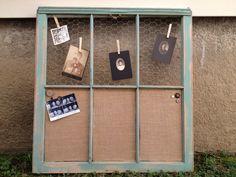 repurposed window frames