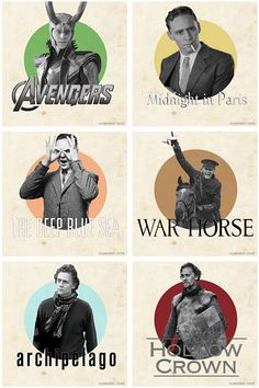 Tom Hiddleston. I just watched war horse. Amazing movie! 2 of my fav actors (Tom and Benedict Bumberbatch) and its directed by one of my fav directors (steven spielberg)
