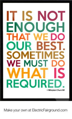 winston churchill quotes | Winston Churchill Framed Quote