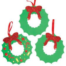 Baker Ross Christmas Children's Crafts Wreath Foam Blanks (Pack of 3d Christmas Tree, Christmas Crafts For Kids, Christmas Wreaths, Christmas Decorations, Christmas Ornaments, Holiday Decor, Xmas, Couronne Diy, Mousse