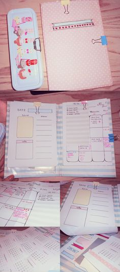 My Handmade Planner by Ninelyn.deviantart.com on @DeviantArt