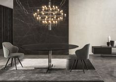 Contemporary sideboard / in wood / lacquered wood / by Rodolfo Dordoni - CONNORS - Minotti
