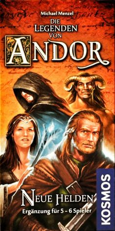 Die Legenden von Andor, Neue Helden