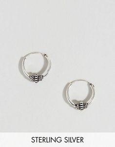 Kingsley Ryan | Kingsley Ryan Sterling Silver 10MM Wire Wrapped Hoop Earring
