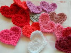 Free Crochet Pattern - Heart