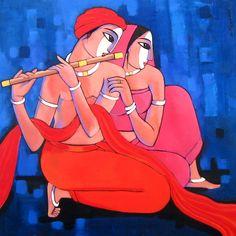 Sekhar Roy, 1957 ~ Figurative painter | Tutt'Art@ | Pittura * Scultura * Poesia * Musica |