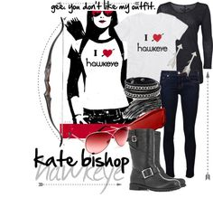 """""""Gee. You don't like my outfit."""" by eiluned on Polyvore"""