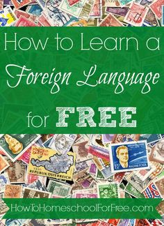Your children can learn a foreign language for FREE online with  these amazing resources! http://howtohomeschoolforfree.com/learn-a-foreign-language-for-free/