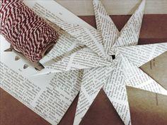 Eller vil du heller lage denne stjernen? DIY: Papirstjerne  | Norway Designs