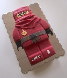 Lego Ninja cake made by an ald friend of mine