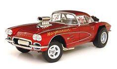 1962 Corvette gasser Big John Mazmanian item #PM014