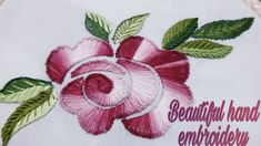 Roses, Stitching, Needlepoint, Hands, Embroidery, Pink, Rose