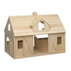 Breyer   Wood Horse Barn Large   Traditional  Toys