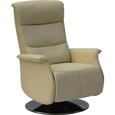 Add a contemporary recliner to any office or living room in a neutral beige color and achieve a modern look with this recliner  http://lamaisonaz.com/blog/