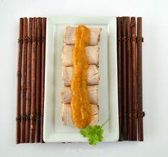 Bloc de recetas: Lomo de cerdo asado con mostaza a la miel