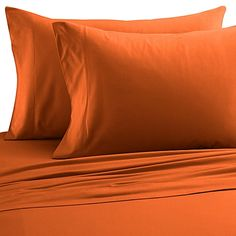 Micro Flannel®  Solid Full Sheet Set in Terracotta