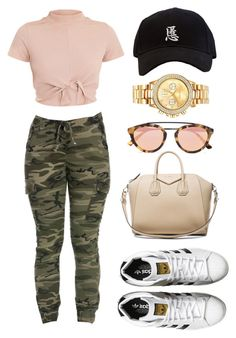 """146. Happy Valentines Day!"" by asrat101 ❤ liked on Polyvore featuring Givenchy, adidas Originals, Mestige and Westward Leaning"