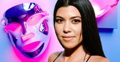 She swears by these non-plug, light therapy masks which you could use while doing other tasks at home. Light Face Mask, Led Light Mask, Light Therapy Mask, Light Shield, New Skin, Skin Firming, Kourtney Kardashian, Masks, Skin Care