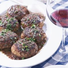 French-Style Chopped Beef (Bifteck Haché)